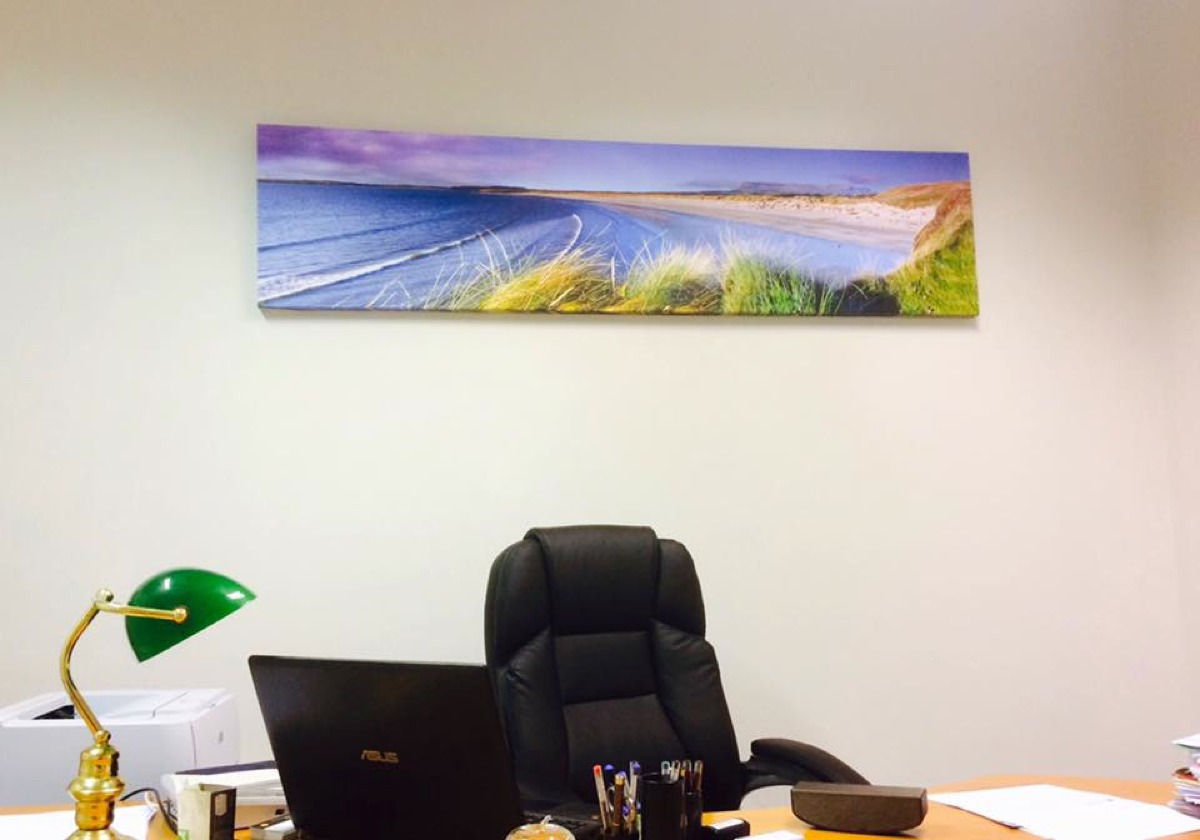 Ciaran McHugh Photography; Second Beach Rosses Point in Sligo Law Office