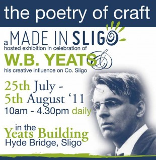 Ciaran McHugh Photography Sligo. The Poetry of Craft - Interpretations of W.B. Yeats poetry by Made In Sligo craft workers