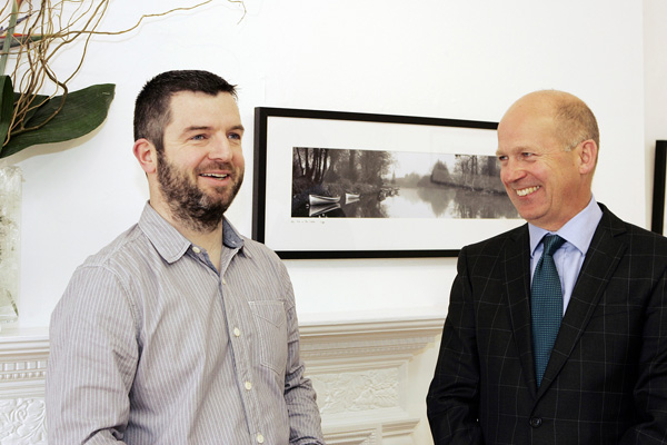 Ciaran McHugh Photography Sligo. Landscape of Yeats collection launched by British Ambassador at Hyde Bridge Gallery