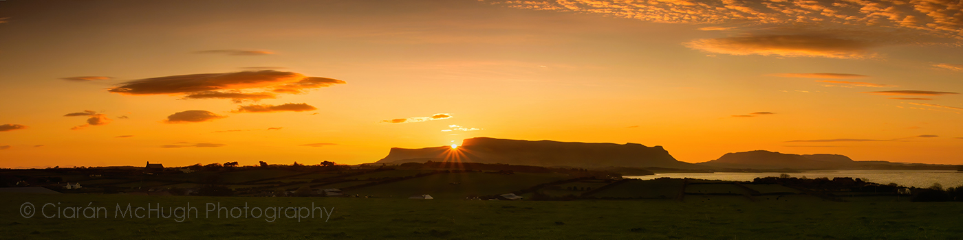 Ciaran McHugh Photography, Sligo: benbulben sunrise