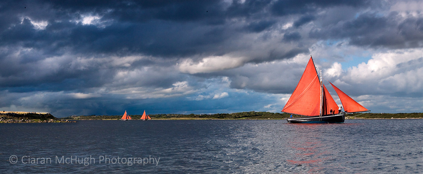 Ciaran McHugh Photography, Sligo: galway hookers at the cruinniu na mbad