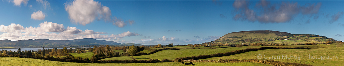 Ciaran McHugh Photography, Sligo: knocknarea from kilmacowen