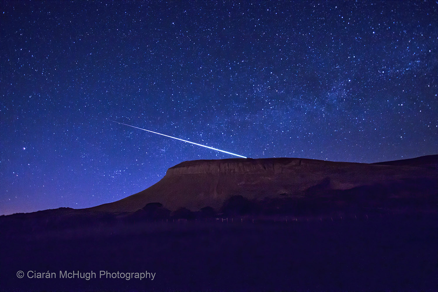 meteor over benbulben