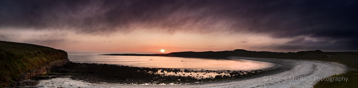 Ciaran McHugh Photography, Sligo: streedagh sunset